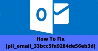 How To Solve [pii_email_33bcc5fa9284de56eb3d] Error Code In Outlook?